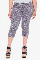 Torrid Denim - Leopard & Rose Skinny Cropped Jeans