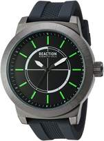 Kenneth Cole Reaction Men's Sport Japanese-Quartz Watch with Silicone Strap