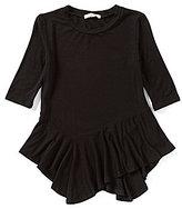 Copper Key Big Girls 7-16 Asymmetrical-Hem Knit Top