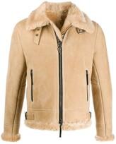 Giuseppe Zanotti Robin suede jacket