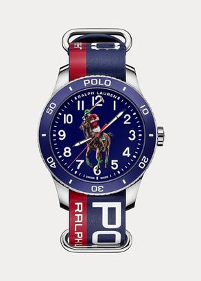 Ralph Lauren Polo Sport Watch Blue Dial
