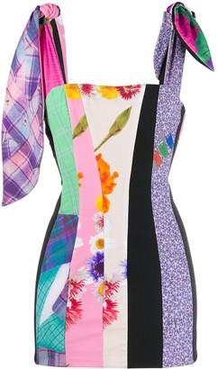 Natasha Zinko Print Mix Dress