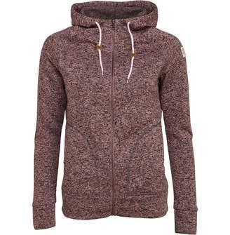 Animal Womens Warmth Zip Through Fleece Woodrose Pink