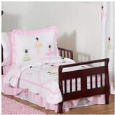JoJo Designs Sweet Ballerina 5 Piece Toddler Bedding Set