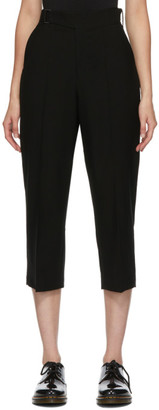 Regulation Yohji Yamamoto Black Belted Trousers