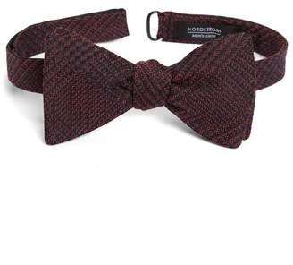 Nordstrom Galloe Plaid Silk Bow Tie