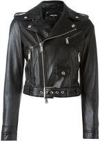 DSQUARED2 classic biker jacket