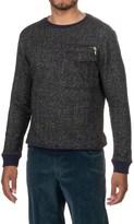 Michael Stars Crew Neck Sweater - Zip Pocket (For Men)