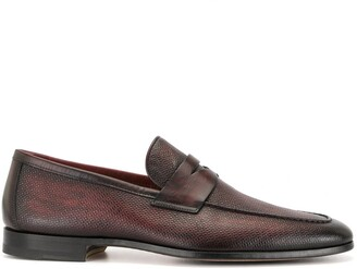 Magnanni Polished Finish Loafers