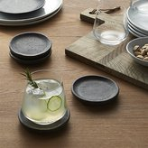 Crate & Barrel Set of 4 Cole Coasters
