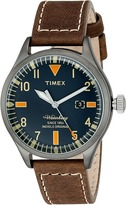 Timex Waterbury Leather Strap