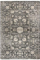 Panache Rizzy Home Collection Delaney Floral Rectangular Rugs, One Size , Gray