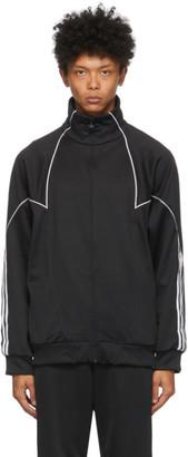 adidas Black Trefoil Abstract Track Jacket