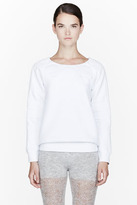MM6 MAISON MARTIN MARGIELA White Embossed Sweatshirt