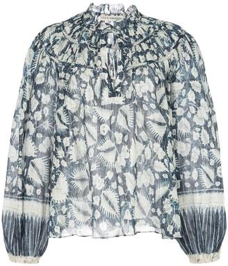 Ulla Johnson Yulia foliage blouse