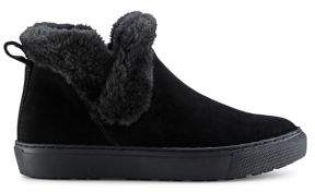 Cougar Duffy Faux Fur-Lined Suede Booties