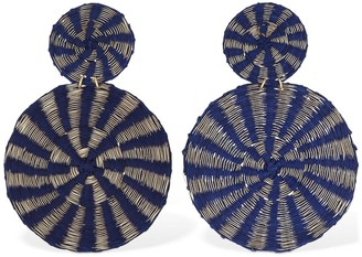 Mercedes Salazar Two Suns Clip-On Earrings