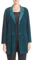 Lafayette 148 New York Women's 'Carson' Suede Jacket