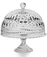 Godinger Symphony Crystal Cake Plate with Dome