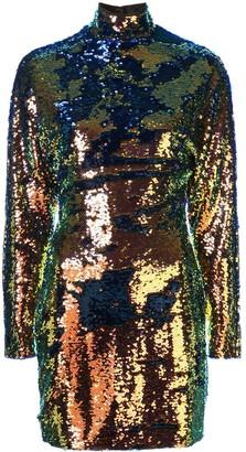 RtA Sequin Embellished Mini Dress