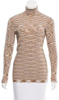 Sandro Patterned Long Sleeve Top