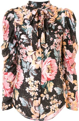 Ginger & Smart Floral-Print Blouse
