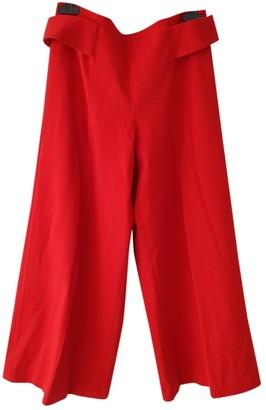 Tara Jarmon Red Trousers for Women