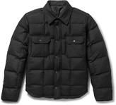 Balenciaga - Reversible Quilted Wool-blend Twill And Shell Jacket