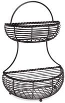 Mikasa 2-Tier Flatback Wire Basket