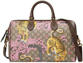 Gucci Bengal top handle bag - women - Leather/Canvas/metal/Microfibre - One Size