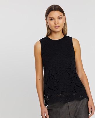 Lindsay Nicholas New York Lace Top