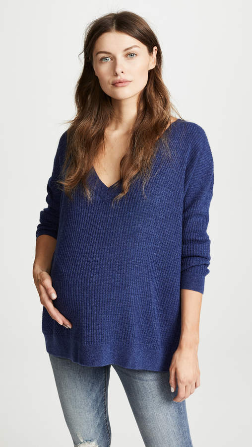 Hatch The Easy V Neck Sweater