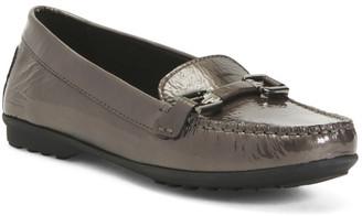 Comfort Slip On Patent Leather Flats