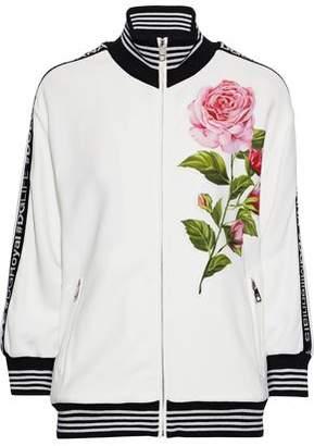 Dolce & Gabbana Appliqued Crepe Jacket