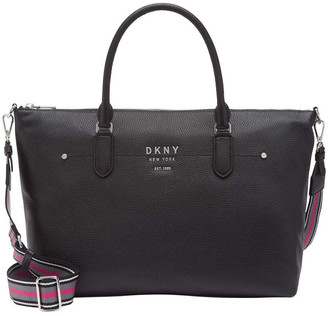 DKNY R01DAG97 Erin Zip Top Tote Bag
