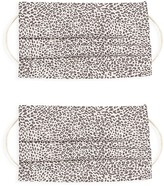 Thumbnail for your product : Rails 2-Pack Leopard Print Face Mask Set