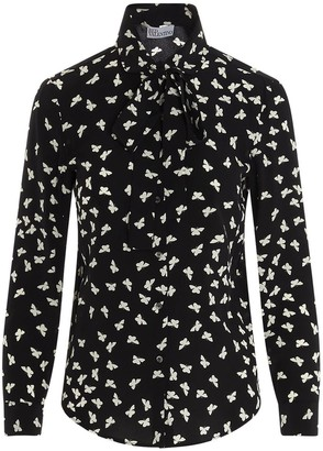 RED Valentino A Thousand Butterflies Printed Shirt