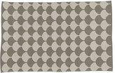 4 x 6' Half Shell Rug (Grey)
