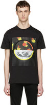 McQ by Alexander McQueen Black Floral T-Shirt