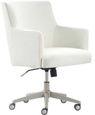 Tommy Hilfiger Belmont Task Chair Upholstery Color: Ivory