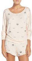Betsey Johnson Women's Print Dolman Short Pajamas