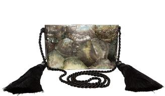 Rafe Chriselle Tassel Minaudiere Clutch Bag