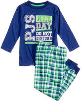 Max & Olivia 2-Pc. PJs All Day Pajama Set, Little Boys & Big Boys