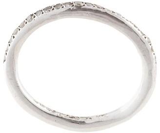 Rosa Maria Margie grey-diamond pave ring
