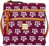 Dooney & Bourke Texas A&M Aggies Triple Zip Crossbody Bag