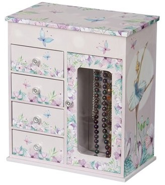 Mele Designs Vera Girl's Musical Ballerina Jewelry Box