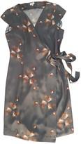 Hoss Intropia Grey Silk Dress for Women