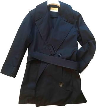 Lemaire Blue Cotton Coats