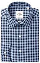Ben Sherman Oxford Check Florentine Tailored Slim Fit Dress Shirt