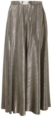 Daneh Gold Maxi Skirt